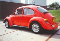 VW Beetle 1972 (left-rear view)