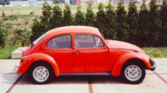VW Beetle 1972 (side view)