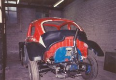 The Baja-kit (rear) for the 1972 VW Beetle.
