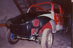 The Baja-kit (front) for the 1972 VW Beetle.